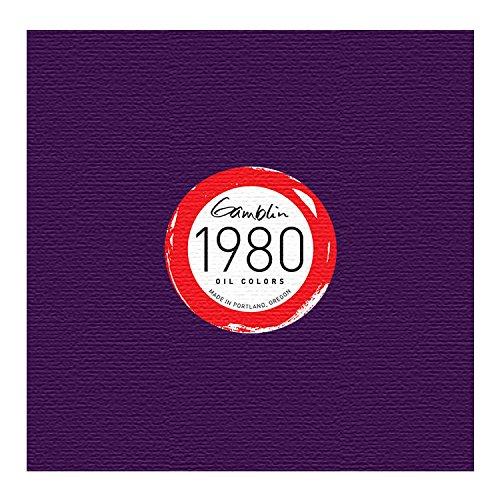 - Gamblin 1980 Oil Cobalt Violet Ag 37Ml