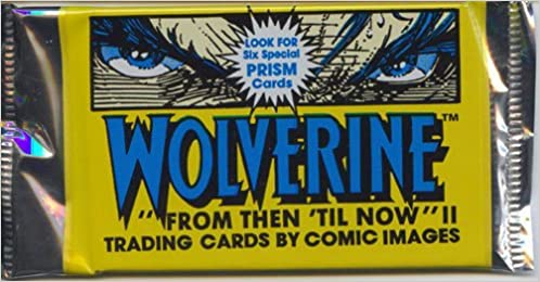 Comic Images Wolverine Comic Trading Card Pack