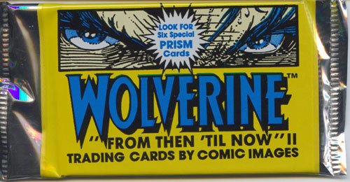 (WOLVERINE II, TRADING CARDS, BY, COMIC IMAGES, 90 CARD SET, 10 CARDS TO PACK, 1- PACK, LOOK FOR THE EXTRA-SPECIAL PRISM CARDS, PRISM CARD NOT IN EVERY PACK, (II))