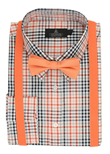dress shirts with bow ties - 4