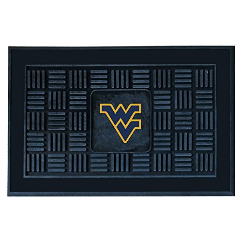 (FANMATS NCAA West Virginia University Mountaineers Vinyl Door Mat)