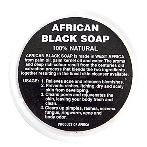African Black Soap Paste - 8oz, 16oz, 32oz Container by Sheanefit (Black Soap, 32oz)