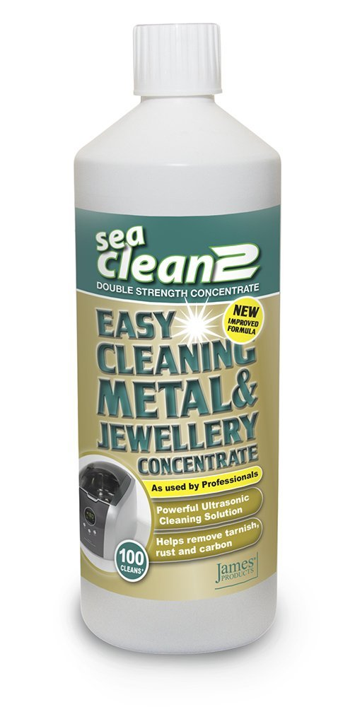 JPL Sea Clean 2 Cleaning Solution 1L For All Ultrasonic Cleaners by James Products