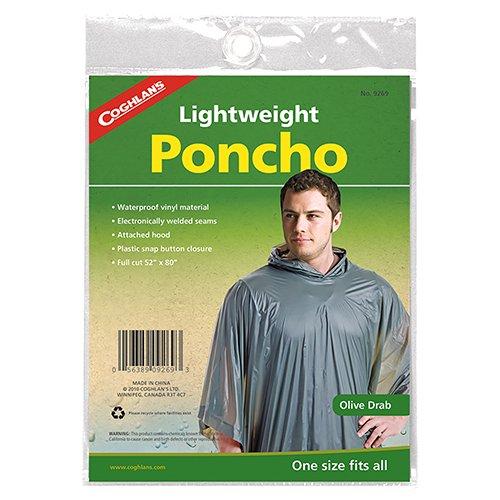 (Coghlans 9269 Vinyl Poncho)
