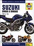 Suzuki SV650 & SV650S 1999 to 2005 (Haynes Service & Repair Manual)
