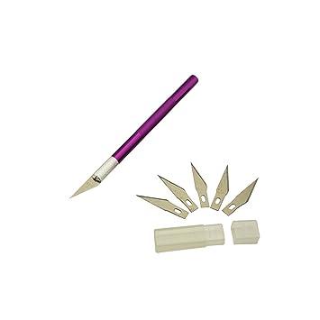 STOBOK Cuchillas para Cuchillos artesanales Talla de Madera ...