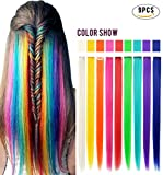 Best Hair Extensions - Rhyme Wig Pieces Clip On/In Colored Hair Extension Review