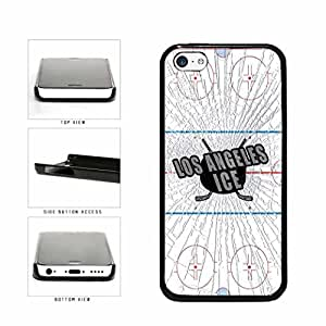 Los Angeles Ice Plastic Phone Case Back Cover Apple iPhone 5c