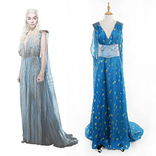 CosplayDiy Women's Costume for Game of Thrones Daenerys Targaryen Cosplay