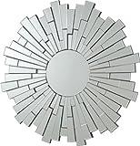 Coaster Transitional Sunburst Round Frameless Wall Mirror Review