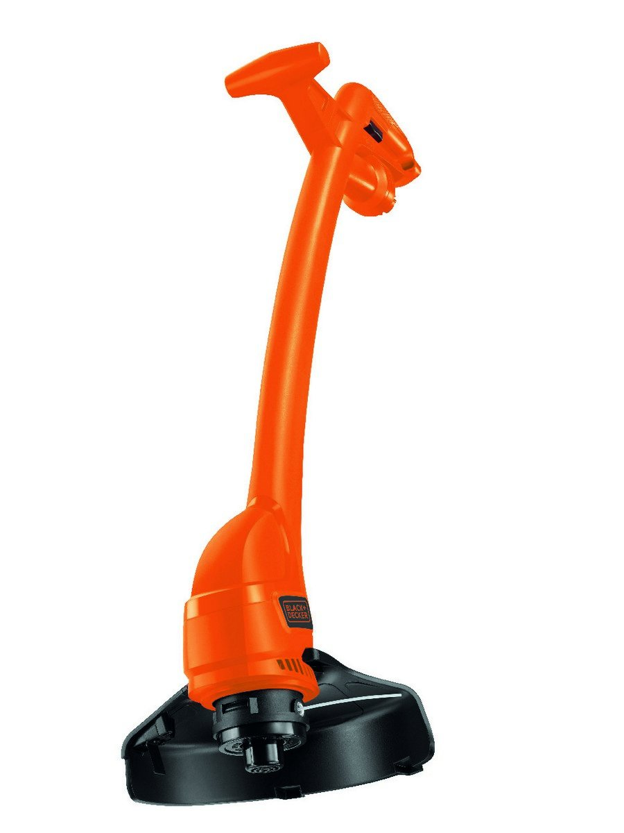 Black + Decker GL360GB Garden String Strimmer, 25 cm, 350 W, Orange Black & Decker GL360-GB