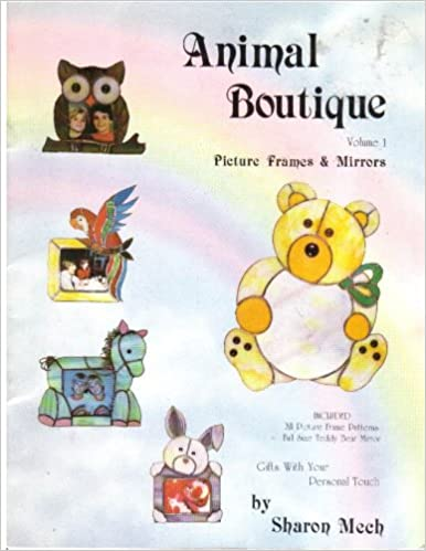 Animal Boutique Picture Frames Mirrors Volume 1 Sharon Mech