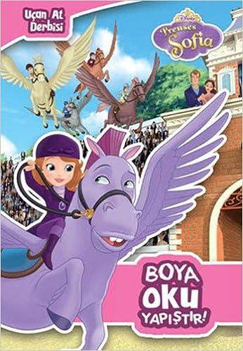 Disney Prenses Sofia Ucan At Derbisi Boya Oku Yapistir Collective