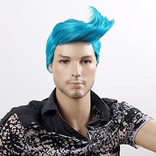 Stfantasy Mens Wig Short Straight Heat Friendly Synthetic Hair 14