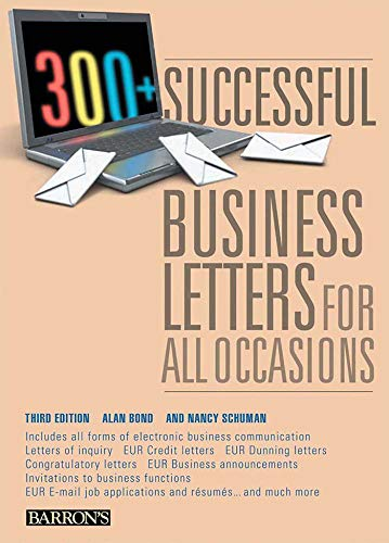 (300+ Successful Business Letters for All Occasions (Barron's 300+ Successful Business Letters for All Occasions))