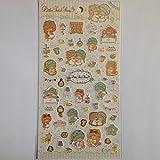 [New edition] cute ? Sanrio Little Twin Stars (Kikirara) seal (room)
