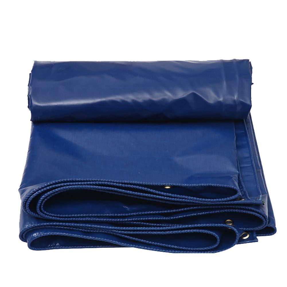 Waterproof Cloth Home Tente extérieure bÂche imperméable extérieure avec Tente de Couverture en Tissu résistant à la Pluie de Toile imperméable Robuste oeillet (Couleur   bleu, Taille   4×6m) bleu 4×6m