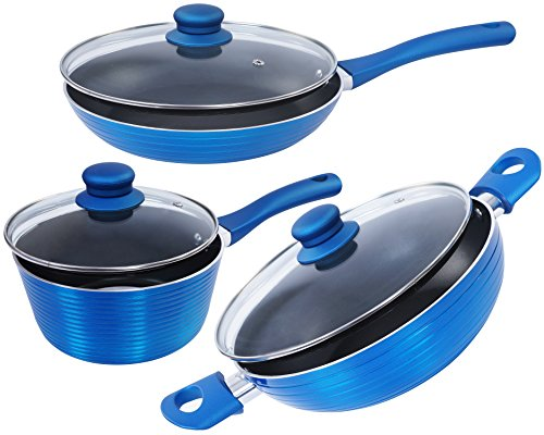 Nirlon Non Stick 4 Layer Induction Based Cooking Utensils Set