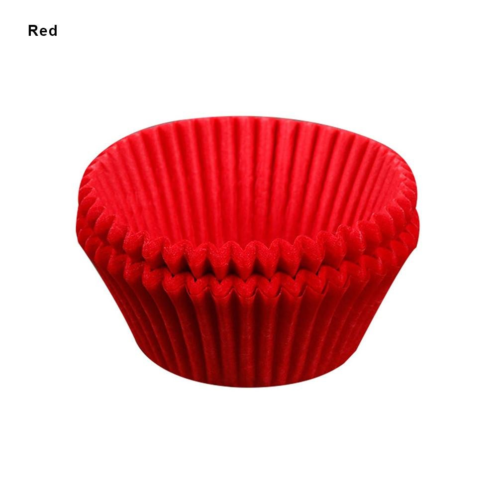 su-luoyu 100 pcs Cake Paper Cup Baking Paper Cup Multicolor Mini Baking Cups Liner Muffin Cupcake Cup