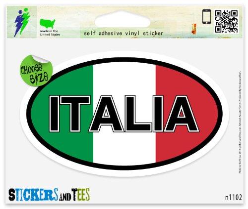 Top 10 best italian flag window sticker for car for 2020