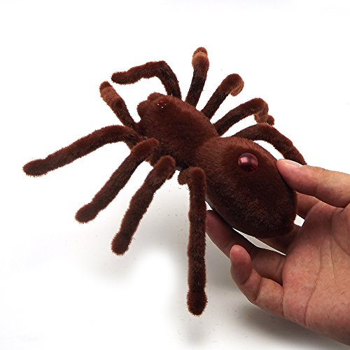 Tarantula Component - Escomdp Kids Cute 2CH RC Spider Radio Remote Control Vehicle Car Tarantula Electric Toy Real-like Animal Toy 4 x AAA Battery (Not Included)