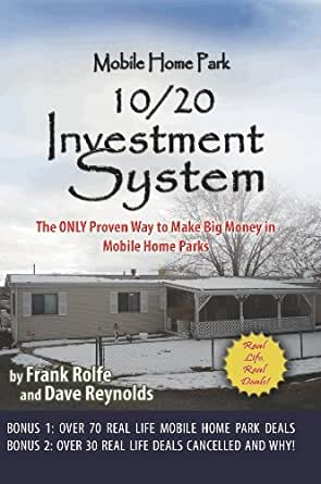 Amazon Mobile Home Park 10 20 Investment System EBook Dave