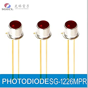 PHOTODIODE, Silicon PIN Photodiodes, 650nm, 450-750nm, TO-18, 2-Pin, Photoelectric Detector: Amazon.com: Industrial & Scientific