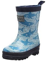 Hatley Kids Rain Boots - Shark Alley - Size 13/EU 31