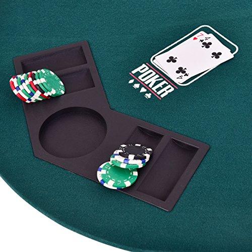 Gaintex Folding Poker Table Top ... & Gaintex Folding Poker Table Top Four Fold 8 Player Poker Table Top ...