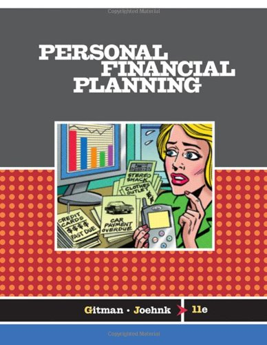Personal Financial Planning (Available Titles CengageNOW)