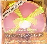Bubble Shack Hawaii 856214003517 Bungalow Glow Premium Organics Coconut Butter Soy Candle-Pink Hawaiian Plumeria -pack of 2