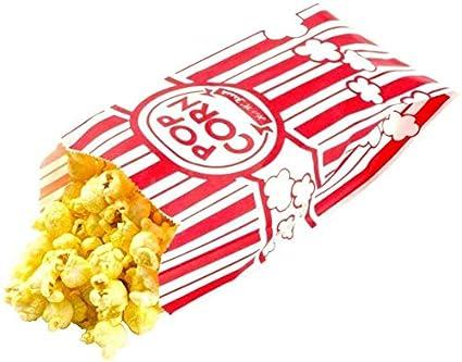 Popcorn Bags - 1oz Popcorn Bag - 2 oz Popcorn Bags - Carnival King Paper Popcorn Bags - Paper Popcorn Bags, Movie Popcorn Bags - Bolsas de Palomitas - ...