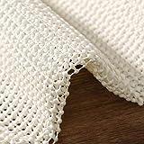 ITSOFT Non Slip Area Rug Pad Carpet Underlay Mat on Hard Floor Runner Extra Strong Grip, 2 x 3 Feet