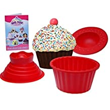 Vinmax Silicone Cupcake Muffin Mould Bake Cake Set for Birthday Christmas Party