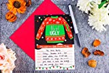 Christmas Invitation Cards – 50-Pack Ugly Sweater