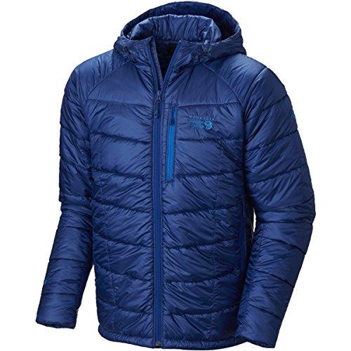 Mountain Hardwear Super Compressor Hooded Jacket, Azul, Larg