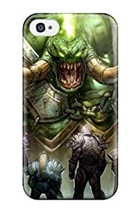 Fashion Protective Demon Warrior Of World Battle Warcraft Video Game Other Case Cover For Iphone 4/4s wangjiang maoyi