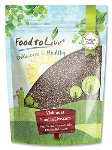 Food to Live Chia Seeds (Kosher) (8 Ounces)