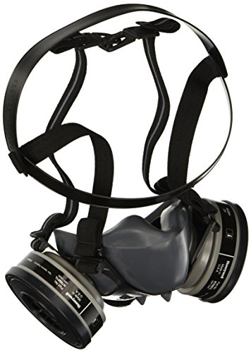 5500 Series Half Mask with 2 Organic Vapor Cartridges, Size - Respirators Series Mask Half 5500