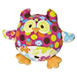 Mary Meyer Print Pizzazz Hugaroo 5.5-Inch Hoots Owl Plush