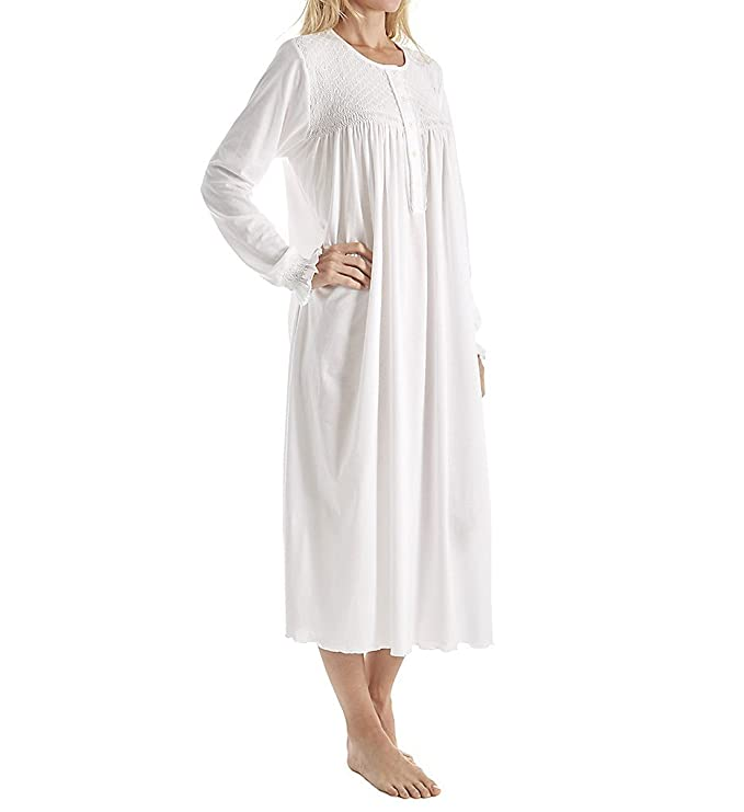 P-Jamas Heirlooms Long Sleeve Gown (Tulipan) at Amazon Women s Clothing  store  Nightgowns 9f4ee6604