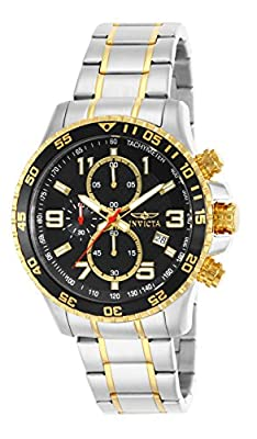 Invicta Men's 14876 Specialty Chronograph 18k Gold Ion-Plated and Stainless Steel Watch by Invicta