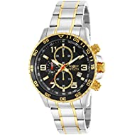 Men's 14876 Specialty Chronograph 18k Gold Ion-Plated and Stainless Steel Watch