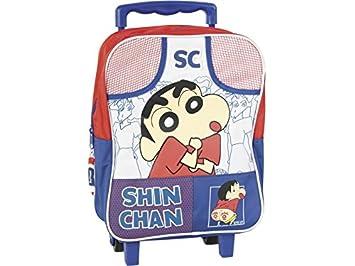 Carrito Mochila Colegial Shin Chan: Amazon.es: Juguetes y juegos