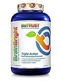 BioTrust Brain Bright Brain Booster Supplement, 60 tablets