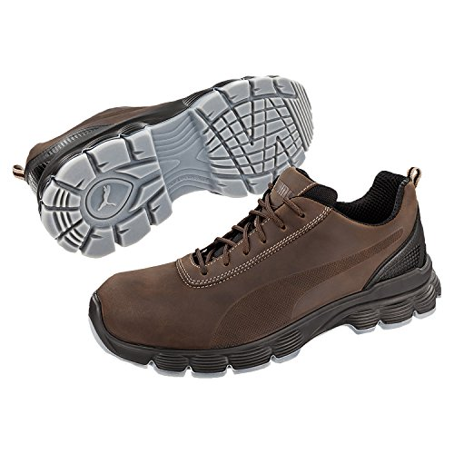 PUMA Condor Low S3 - Zapato de protección (tamaño 44) color marrón