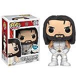 Funko - Figurine WWE - New Seth Rollins White Costume Exclu Pop 10cm - 0889698118385