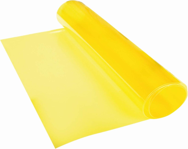 gelb 1 St/ück Ma/ße 30 x 100 cm Foliatec 34130 Kunststoff T/önungsfolie