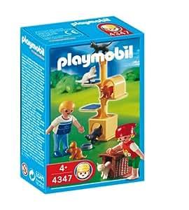 Playmobil 626631 - Veterinaria Árbol Con Gatos