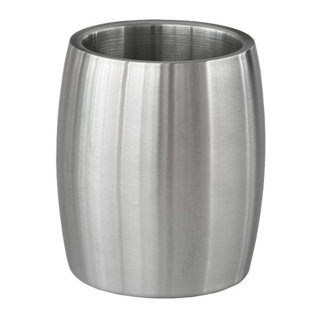 RANRANHOME Double Stainless Steel ice Bucket Single Wine Wine Champagne Bucket KTV bar Wine Set by RANRANHOME